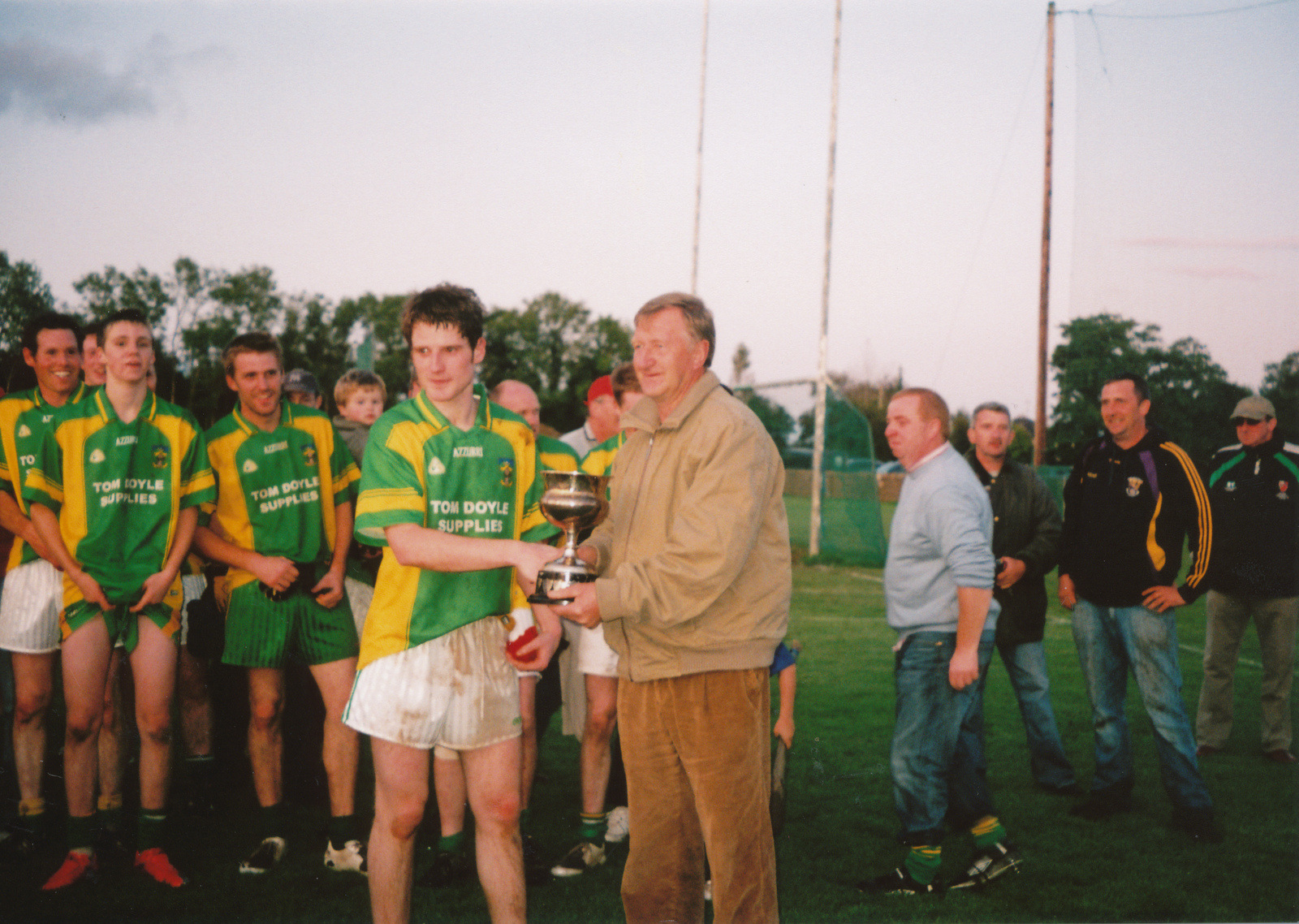 Presentation to Gorey District Junior B champions 2009